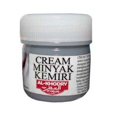 AlKhodry Cream Kemiri Penumbuh Rambut  3 Pcs