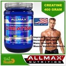 Promo Allmax Nutrition100 Pure Micronized Creatin 400 G Meningkatkan Massa Otot Muscle Mass Allmax Terbaru