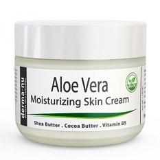 Aloe Vera Dry Skin Cream-Kulit Remedy Terbaik Repair Cream Oleh Derma-nu-Perawatan Organik untuk Wajah & Tubuh-Pengobatan untuk Terapi Psoriasis dan Eksim Berminyak dan Cepat Menyerap-8 Oz- INTL