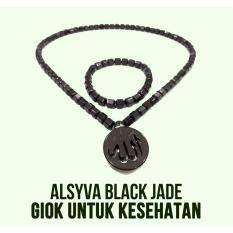Alsyva Black Jade – Kalung dan Gelang Kesehatan