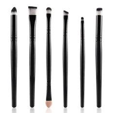 Amart 6/15 Buah Set Kuas Make Up Mata. Kuas Make Up Kosmetik Perempuan Perona Bibir With Pensil-Internasional