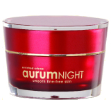 Americ Aurum Night Krim Pelembab Wajah Dengan Butiran Emas Americ Diskon 50