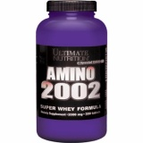 Review Amino 2002 Original Edisi Ecer Ultimate Nutrition 50 Tabs Terbaru