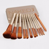 Anekaimportdotcom Brush Naked3 Isi 12Pcs Jual Brush Set Murah Kuas Make Up Set Asli