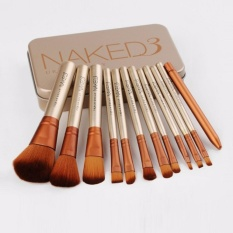 Review Anekaimportdotcom Brush Naked3 Isi 12Pcs Jual Brush Set Murah Kuas Make Up Set
