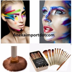 Spesifikasi Anekaimportdotcom Kuas Make Up Brush Naked3 Kuas 12 Pcs Paling Bagus