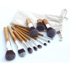 Toko Angel Kuas Make Up Foundation Eyeshadow Eyeliner Lip Makeup Brushes And Applicators Cosmetic Tool Soft 11 Pcs Terlengkap