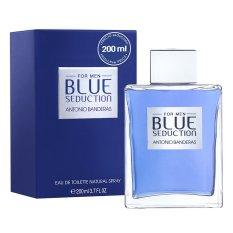 Jual Antonio Banderas Blue Seduction Edt Vapo Untuk Pria 200Ml Satu Set