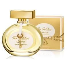Toko Antonio Banderas Her Golden Secret Edt 80Ml Women Online Di Indonesia
