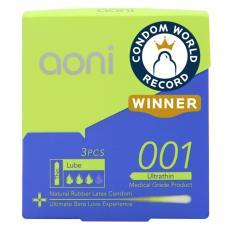 Toko Aoni Kondom Latex Tertipis Di Dunia Ultra Thin 001 3 Pcs Box World S Thinnest Latex Condom Murah Dki Jakarta