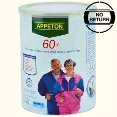 Diskon Appeton 60 Plus Vanilla 450Gr