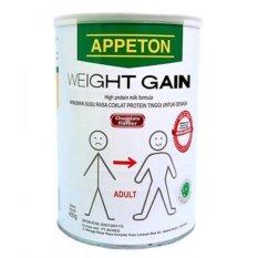 Beli Appeton Weight Gain *d*lt Coklat 450 Gr Susu Tinggi Protein Rasa Coklat Susu Penambah Berat Badan Appeton Dengan Harga Terjangkau