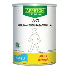 Appeton Weight Gain Susu Rasa Vanila Dewasa - 450 gram Adults Vanilla