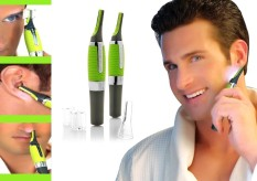 Spesifikasi As Seen On Tv Pisau Cukur Bulu Halus Elektrik Micro Touch Max Hijau Baru