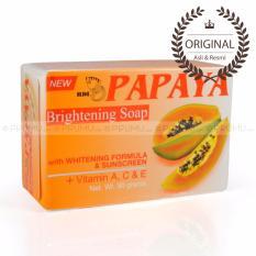 [ASLI & RESMI] RDL Papaya Brightening Soap 90 gram - Sabun Pepaya