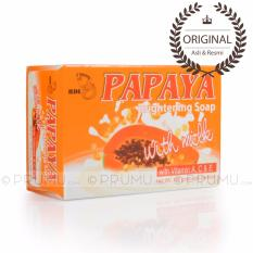 [ASLI & RESMI] RDL Papaya Brightening Soap With Milk 135 gram - Sabun Papaya Susu
