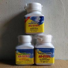 Jual Asy Syifa Kapsul Gurah Herbal Sesak Nafas Paket 3 Botol Termurah
