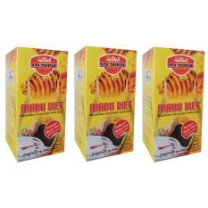 Review Toko At Thoifah Madu Diet Pelangsing Alami Paket 3 Botol