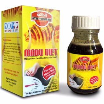 description : Ath-thoifah Madu Diet Alami Pelangsing Tubuh 350gr Langsing Sehat Asli Original Murni 100% Honey Herbal Ath Thoifah Penurun Berat Badan Body ...