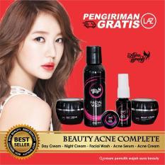 Aura Beauty Acne Paket Cream Wajah Berjerawat Cepat Atasi Jerawat Tanpa Pengelupasan Di Yogyakarta