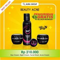 Jual Aura Beauty Cream Jerawat Terbaik No 1 Di Lazada Pemutih Wajah Cepat Lengkap