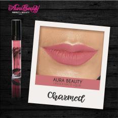 Aura Beauty Lipstik Warna charmed PROMO MURAH Lipmatte Dengan Hasil Yang Matte Tahan Lama Dan Waterproof