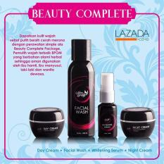 AURA BEAUTY Paket Cream Beauty Complete - Krim Pemutih dan Pencerah - Wajah Secara Alami TERBUKTI  Aman dan NO MERCURY