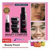 Spesifikasi Aura Beauty Paket Cream Pencerah Kulit Wajah Complete Isi 4 Item Original Free Gift Aglowra Official Lengkap Dengan Harga