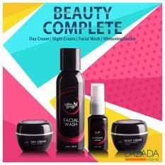 Review Tentang Aura Beauty Skin Care Skin Care Paket 4 In 1 Dalam Satu Kemasan Paket Perawatan Wajah Terbaik Untuk Wajah Pria Dan Wanita 100 Aman Dan Bpom