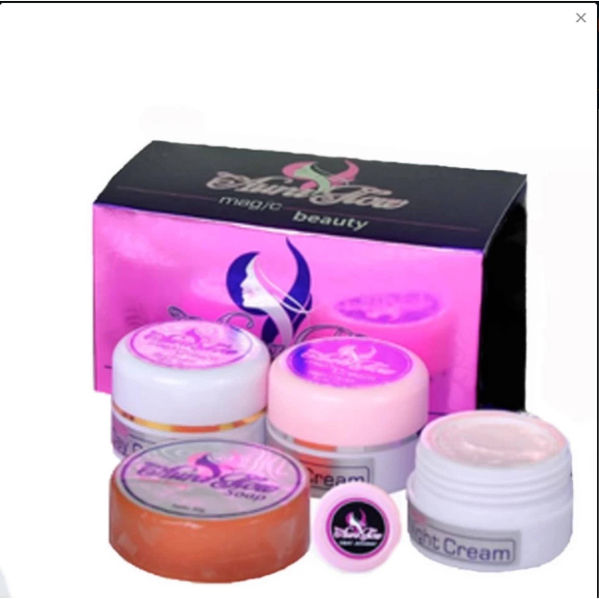 Hemat Aura Glow Magic Beauty Cream Paket Perawatan Wajah Jerawat Ertos Night Bpom Original Malam Anti Acne Krim Pagi Sabun Aman