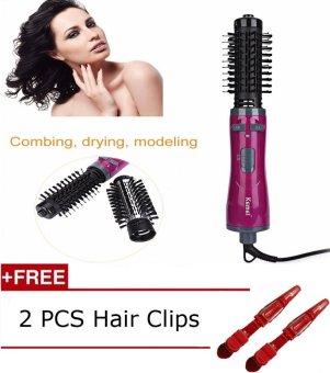 Auto-Memutar Profesional Blow Dryer Gaya Rambut Wand Multifuntional Hair Curling Iron Alat Styling Rambut ...