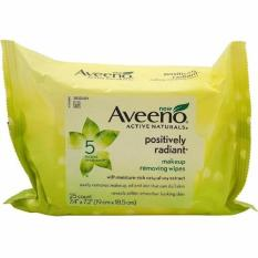 Aveeno Makeup Removing Wipes 25 count