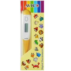 Avico Termometer Digital Elastis Bayi - Kuning