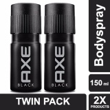 Harga Axe Deodorant Bodyspray Black 150Ml Twin Pack Paling Murah