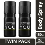 Jual Axe Deodorant Spray You 150Ml Twin Pack Indonesia