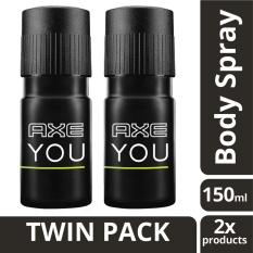 Pusat Jual Beli Axe Deodorant Spray You 150Ml Twin Pack Indonesia