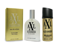 AXL Edt Gold 125 ml & AXL Deo Spray Gold 150 ml