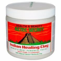 Toko Jual Aztec Secret Usa Indian Healing Clay 450Gram 1Lb Masker Wajah Menyamarkan Stretch Mark Bekas Luka Original Usa