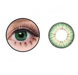 Baby Color Softlens Puffy 3 Tone 21 8Mm Hijau Indonesia Diskon