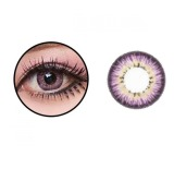 Tips Beli Baby Color Softlens Puffy 3 Tone 21 8Mm Ungu Yang Bagus