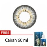 Spesifikasi Baby Color Softlens Puffy 3 Tones Grey Gratis Lenscase Cairan 60Ml Minus 6 Baby Color
