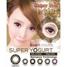 Tips Beli Baby Color Super Yogurt Softlens Choco Gratis Lenscase