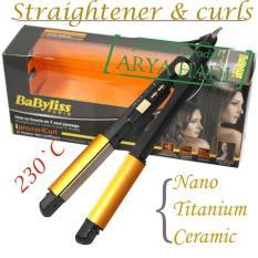 Babyliss Ipro230 iCurls / Catok Pelurus dan Curly / Professional Hair Straightener