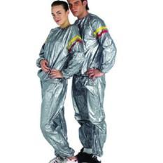 Baju jaket set olahraga SLIMING SAUNA SUIT pelengkap alat fitnes murah