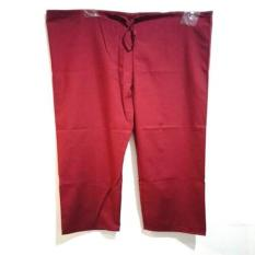 Baju OK Merah Marun Slengan Pendek/ Baju Operasi/ Seragam Rumah Sakit