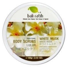Bali Ratih - Body Scrub 110mL - White Musk