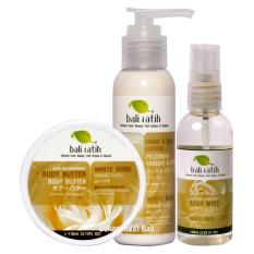 Beli Bali Ratih Paket Body Butter Lotion Mist White Rose Online