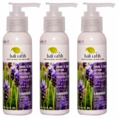 Bali Ratih - Paket Body Lotion 3 pc - Lavender