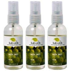 Spesifikasi Bali Ratih Paket Body Mist 60Ml 3Pcs Olive Paling Bagus