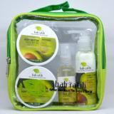 Review Bali Ratih Paket Body Scrub Body Butter Body Lotion Body Mist Free Plastic Pouch Avocado Di Bali